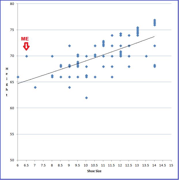 Shoe size survey final results - OnWords